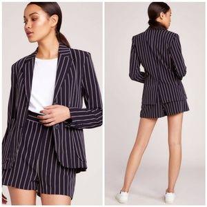 Jack by BB Dakota Blaze It Striped Blazer/ Shorts